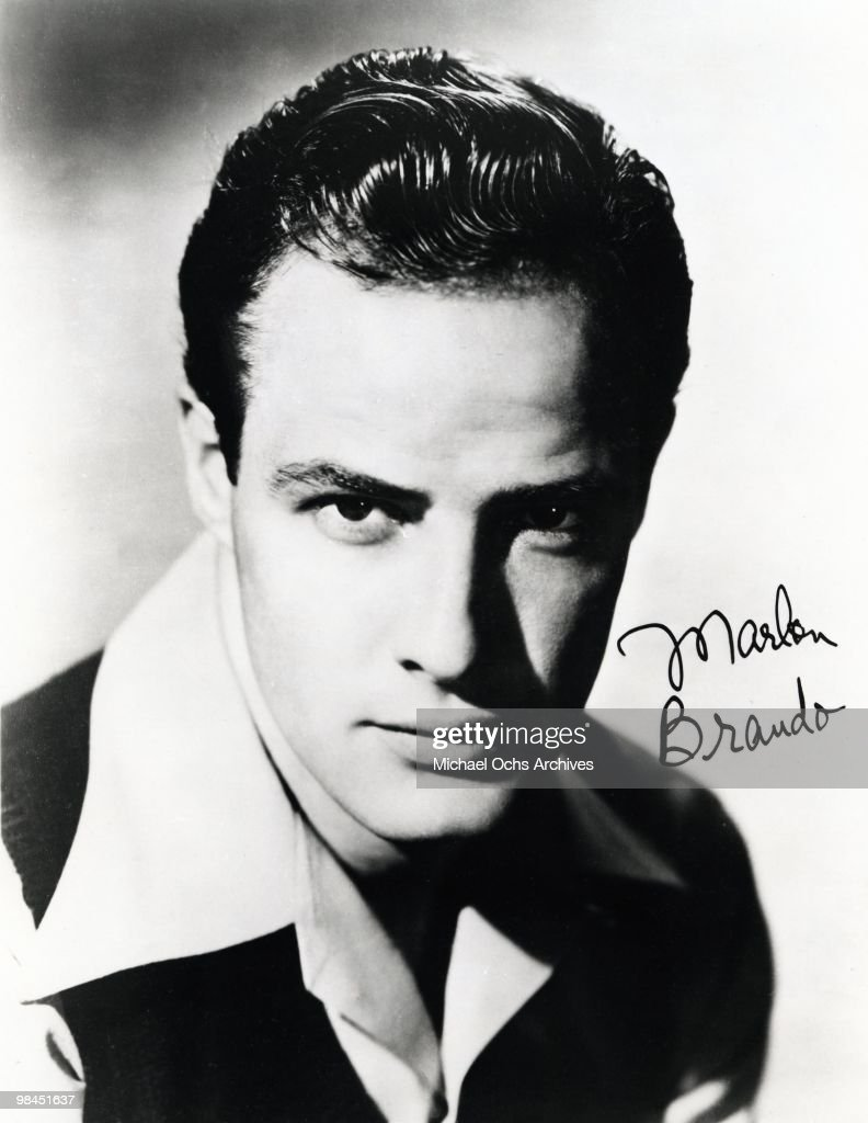 Marlon Brando Portrait : News Photo