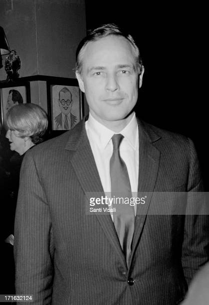 Actor Marlon Brando posing for a portrait on May 151965 in New York New York