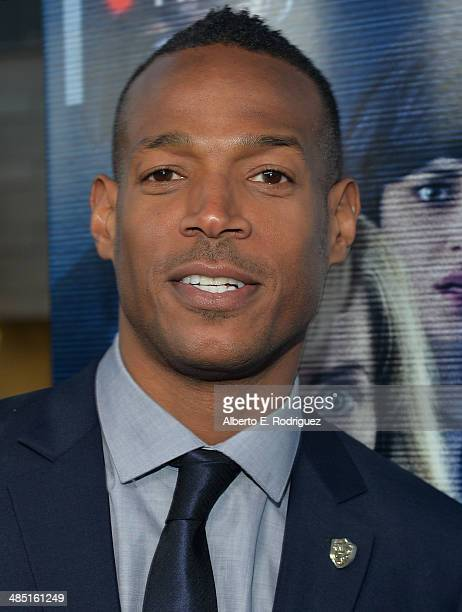 Actor Marlon Wayans arrives to the premiere of Open Road Films' 'A Haunted House 2' at Regal Cinemas LA Live on April 16 2014 in Los Angeles...