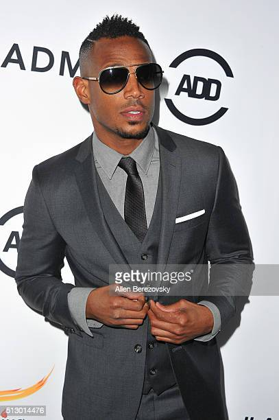 Actor Marlon Wayans attends the All Def Movie Awards at Lure Nightclub on February 24 2016 in Los Angeles California