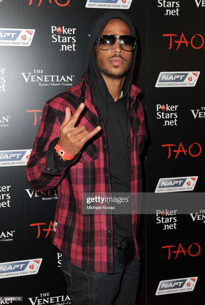 Actor Marlon Wayans attends the Pokerstars.net after party with performance by T-Pain at TAO Nightclub at the Venetian on February 19, 2010 in Las Vegas, Nevada.