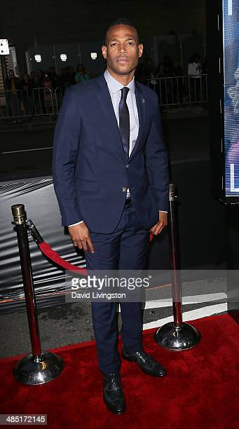 Actor Marlon Wayans attends the premiere of Open Road Films' A Haunted House 2 at Regal Cinemas LA Live on April 16 2014 in Los Angeles California