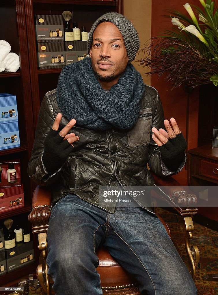 Actor Marlon Wayans attends the The Art of Shaving And Bungalow 8 Pre-Oscar Party at Petit Ermitage Hotel on February 20, 2013 in West Hollywood, California.