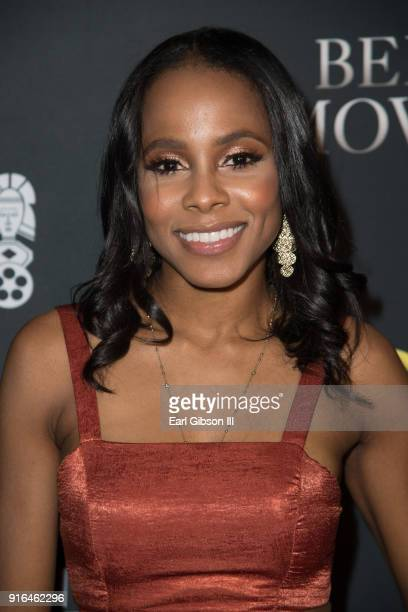 Actor Marquita Goings attends the Pan African Film FestivalBehind The Movement Screening at Baldwin Hills Crenshaw Plaza on February 9 2018 in Los...