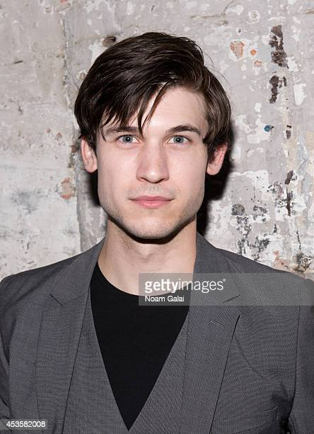 """Actor Marrick Smith attends the """"Revolution In The Elbow Of Ragnar Agnarsson Furniture Painter"""" Opening Night Party at Amity Hall on August 13, 2014..."""