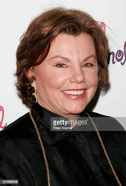 Actor Marsha Mason attends the after party for the opening night of Steel Magnolias on Broadway on April 4 2005 in New York City