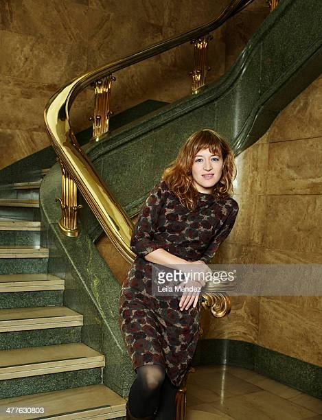 Actor Marta Larralde is photographed for El Pais in Madrid Spain
