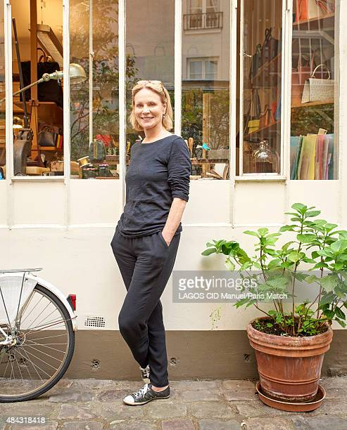 Actor Marthe Keller is photographed for Paris Match on June 26 2015 in Paris France