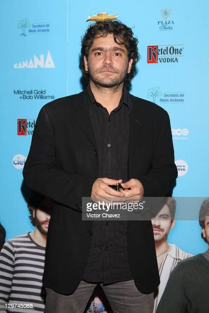 Actor Martin Altomaro attends the Soy Tu Fan season 2 launch at Centro Gallego on October 19 2011 in Mexico City Mexico