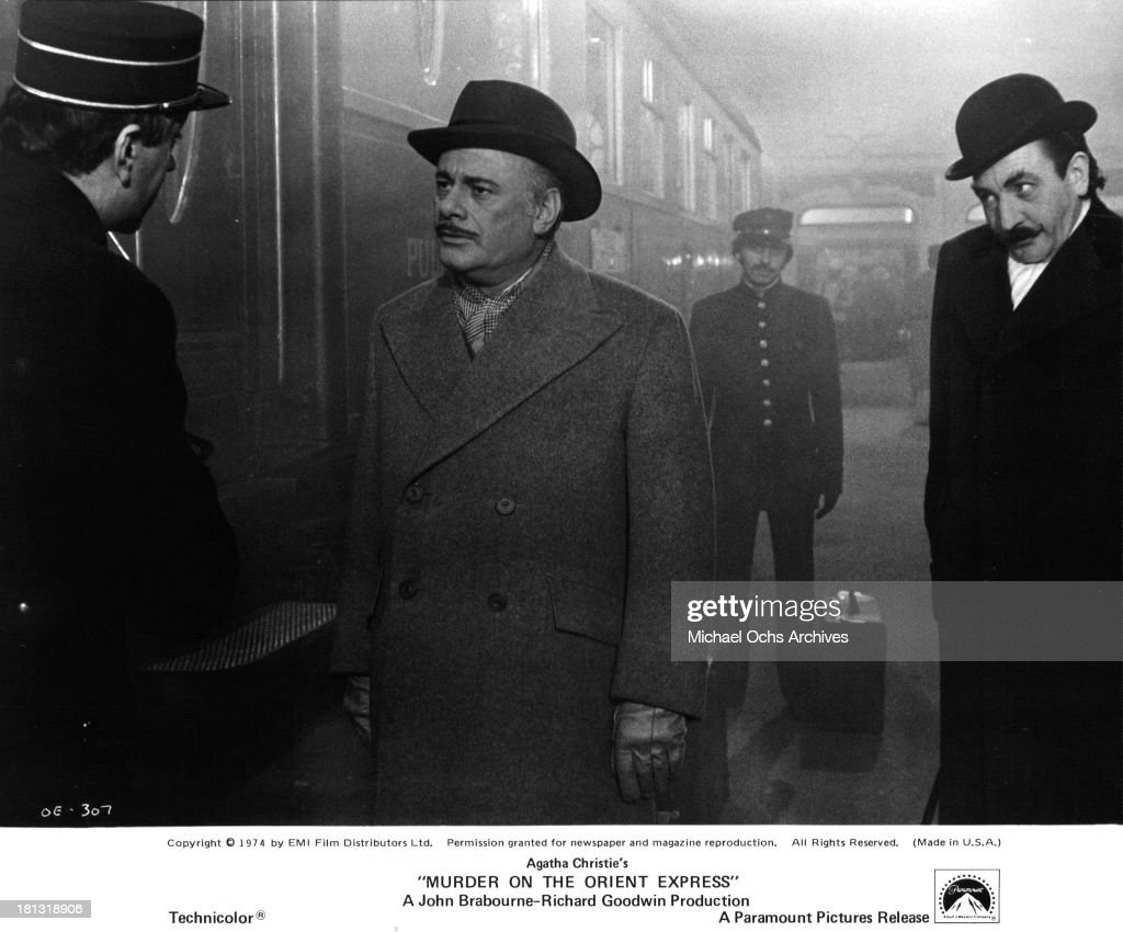 Murder on the Orient Express : News Photo