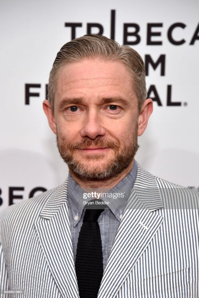 Actor Martin Freeman attends 'Cargo' Red Carpet Premiere - 2018 Tribeca Film Festival at SVA Theatre on April 19, 2018 in New York City.