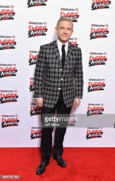 Actor Martin Freeman attends the Rakuten TV EMPIRE Awards 2018 at The Roundhouse on March 18 2018 in London England