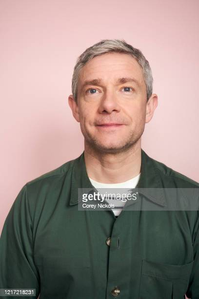 Actor Martin Freeman is photographed for TV Guide magazine on January 9, 2020 in Pasadena, California.
