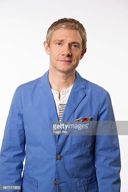 Actor Martin Freeman is photographed for USA Today on April 10 2014 in New York City