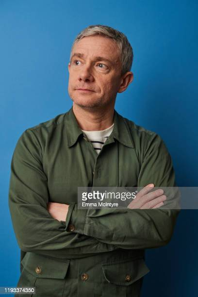 """Actor Martin Freeman of FX's """"Breeders"""" poses for a portrait during the 2020 Winter TCA at The Langham Huntington, Pasadena on January 09, 2020 in..."""