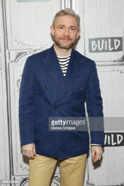 Actor Martin Freeman visits Build Studio to discuss his new film Ghost Stories on April 19 2018 in New York City