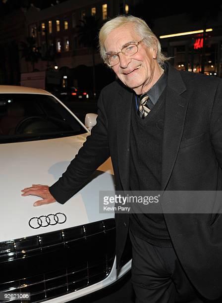 "Actor Martin Landau arrives at ""The Imaginarium Of Doctor Parnassus"" AFI Fest 2009 premiere in an Audi TDI at Grauman's Chinese Theatre on November..."