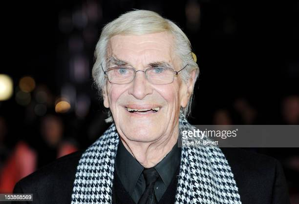 Actor Martin Landau attends the Premiere of 'Frankenweenie' as the Opening Film of the 56th BFI London Film Festival at Odeon Leicester Square on...