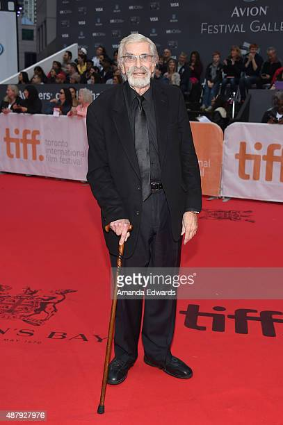Actor Martin Landau attends the 'Remember' premiere during the 2015 Toronto International Film Festival at Roy Thomson Hall on September 12 2015 in...