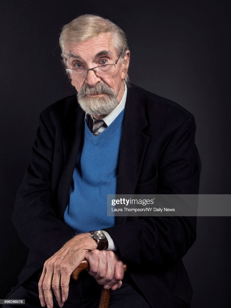 Actor Martin Landau photographed for NY Daily News on April 23, 2017, in New York City.
