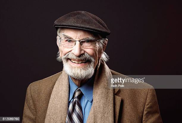 Actor Martin Landau poses for a portrait at the 'Remember' Film Screening at the Museum of Tolerance on February 11 2016 in Los Angeles California
