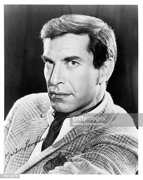 Actor Martin Landau poses for a portrait in circa 1966