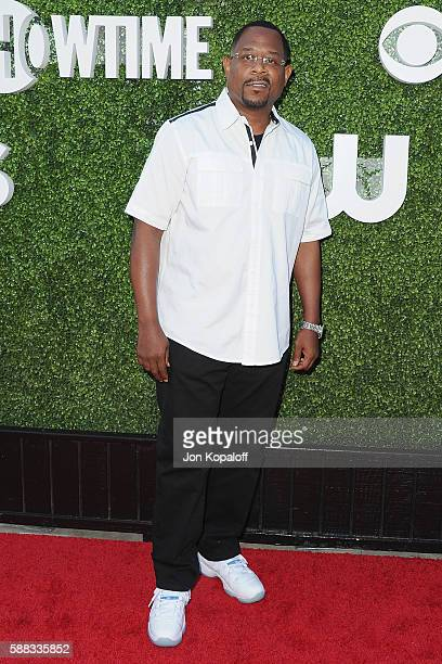 Actor Martin Lawrence arrives at CBS CW Showtime Summer TCA Party at Pacific Design Center on August 10 2016 in West Hollywood California