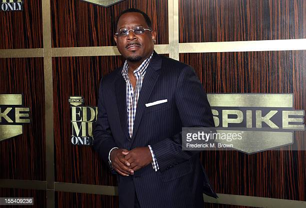 Actor Martin Lawrence arrives at Spike TV's Eddie Murphy One Night Only at the Saban Theatre on November 3 2012 in Beverly Hills California
