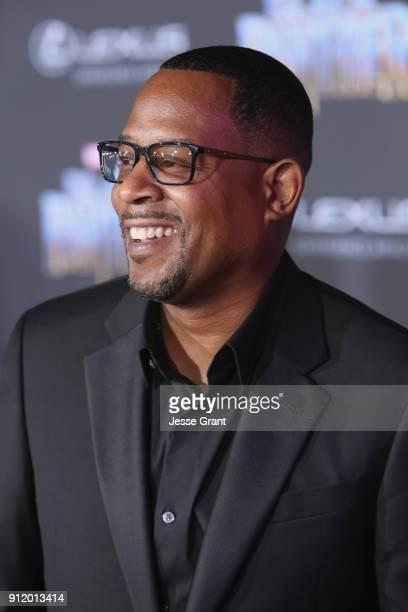Actor Martin Lawrence at the Los Angeles World Premiere of Marvel Studios' BLACK PANTHER at Dolby Theatre on January 29 2018 in Hollywood California
