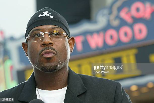 Actor Martin Lawrence attends the Bad Boys II movie premiere at the Mann's Village theatre on July 9 2003 in Westwood California