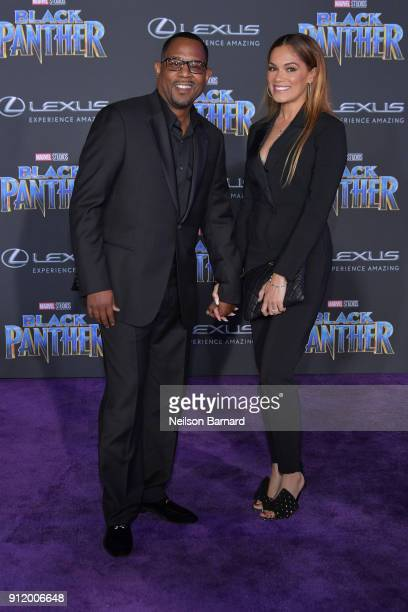 Actor Martin Lawrence attends the premiere of Disney and Marvel's 'Black Panther' at Dolby Theatre on January 29 2018 in Hollywood California