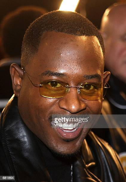 Actor Martin Lawrence attends the premiere of the film Black Knight November 15 2001 in Los Angeles CA