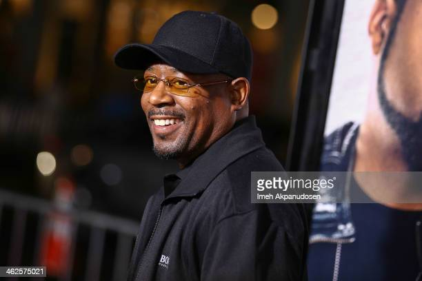 Actor Martin Lawrence attends the premiere of Universal Pictures' 'Ride Along' at TCL Chinese Theatre on January 13 2014 in Hollywood California