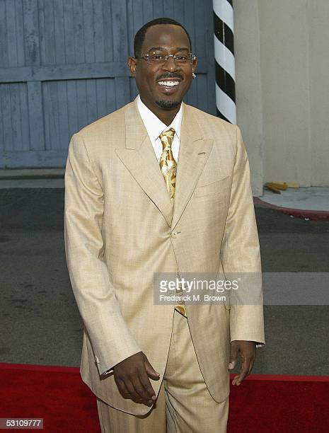 Actor Martin Lawrence attends the Speciall Screening of Rebound at the Zanuck Theater on June 20 2005 in Los Angeles California
