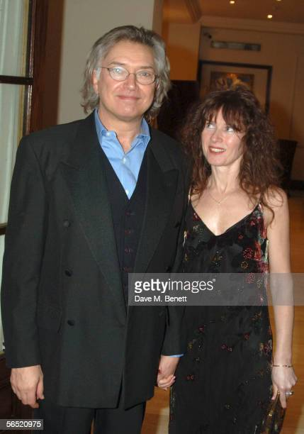 Actor Martin Shaw and Kaz De Silva attend the after show party following the opening night of Bill Kenwright's production at the Haymarket theatre of...