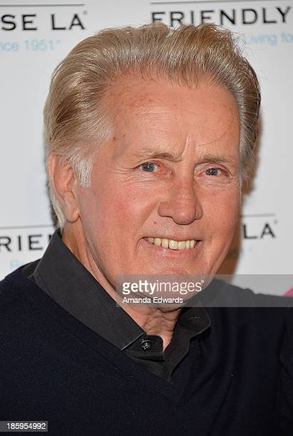 Actor Martin Sheen arrives at the Friendly House Los Angeles Annual Awards Luncheon at The Beverly Hilton Hotel on October 26, 2013 in Beverly Hills,...