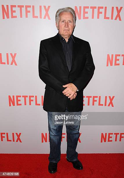 Actor Martin Sheen attends Netflix's Grace Frankie QA screening event at Pacific Design Center on May 26 2015 in West Hollywood California