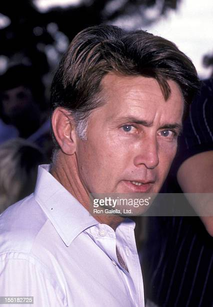 Actor Martin Sheen attends ProPeace Rally on October 5 1985 at Woodley Park in Van Nuys California