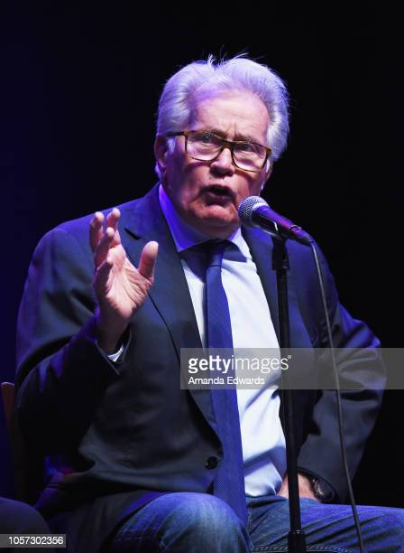 Actor Martin Sheen attends the Los Angeles leg of Stephanie Miller's Sexy Liberal Blue Wave Tour at The Saban Theatre on November 3 2018 in Beverly...