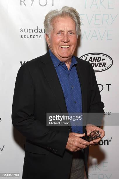 Actor Martin Sheen attends the Los Angeles premiere of 'Take Every Wave: The Life of Laird Hamilton,' sponsored by Land Rover, Verizon and RYOT on...