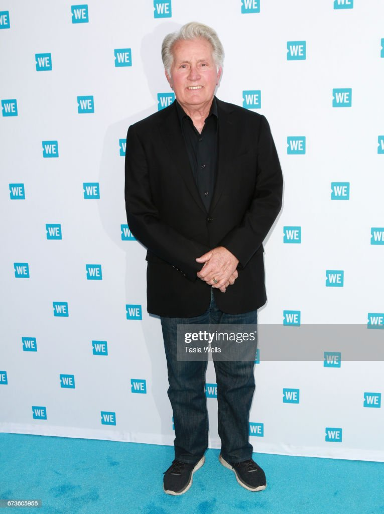 Actor Martin Sheen attends We Day California 2017 Cocktail Reception at NeueHouse Hollywood on April 26, 2017 in Los Angeles, California.