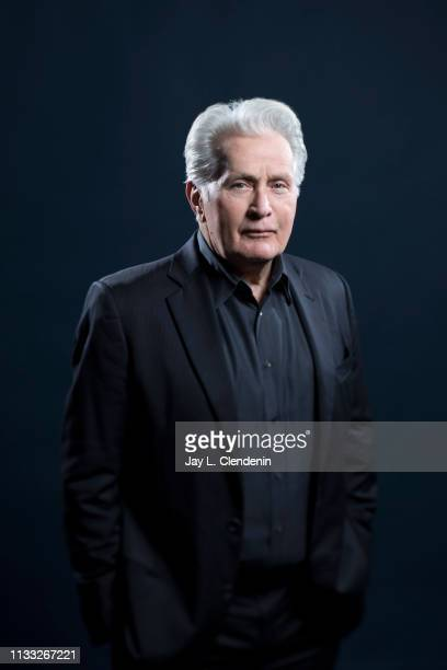 Actor Martin Sheen from 'Grace and Frankie' is photographed for Los Angeles Times on March 16, 2019 during PaleyFest, at the Dolby Theatre in...