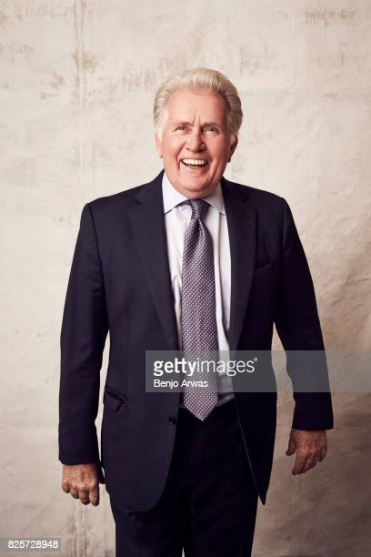 Actor Martin Sheen of PBS's 'Anne of Green Gables: The Good Stars' poses for a portrait during the 2017 Summer Television Critics Association Press...