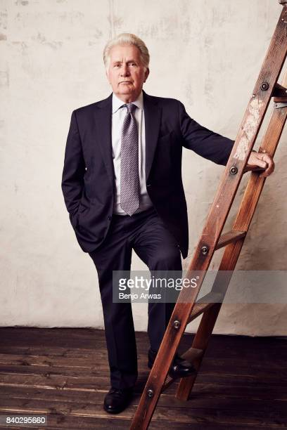Actor Martin Sheen of PBS's 'Anne of Green Gables The Good Stars' poses for a portrait during the 2017 Summer Television Critics Association Press...