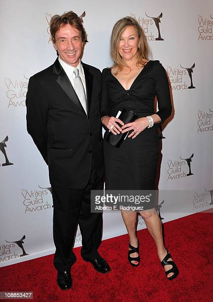 Actor Martin Short and actress Catherine O'Hara arrive to the 2011 Writers Guild Awards on February 5 2011 in Hollywood California