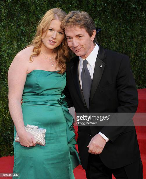Actor Martin Short and Katherine Elizabeth Short arrive at the Vanity Fair Oscar Party 2011 February 27 2011 at the Sunset Tower Hotel in West...