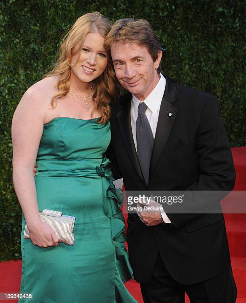 Actor Martin Short and Katherine Elizabeth Short arrive at the Vanity Fair Oscar Party 2011, February 27, 2011 at the Sunset Tower Hotel in West...