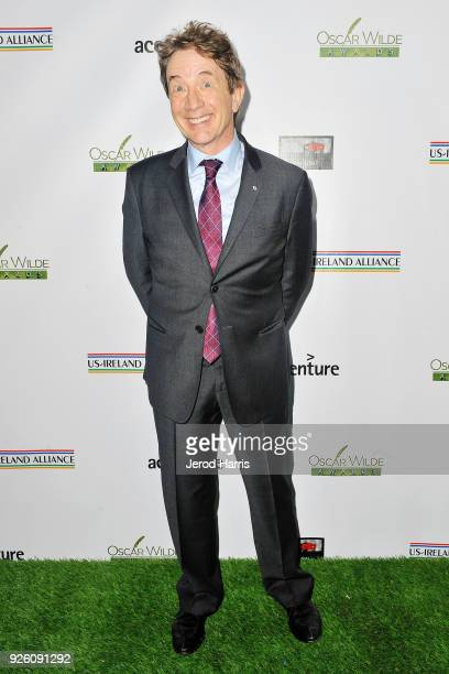 Actor Martin Short arrives at the 13th Annual Oscar Wilde Awards on March 1 2018 in Santa Monica California