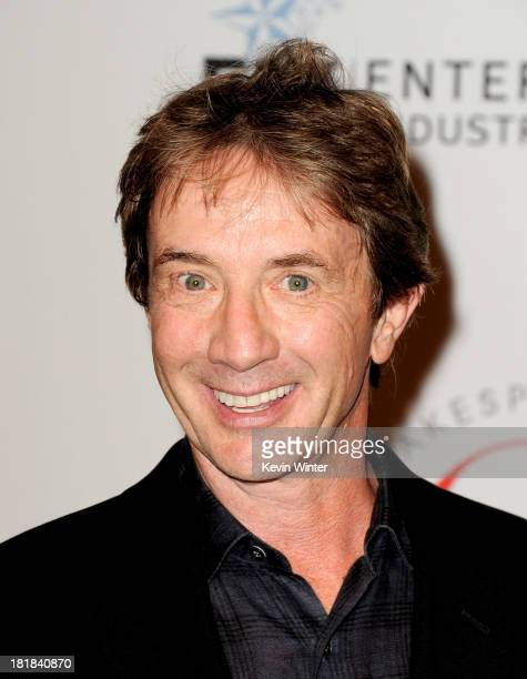 Actor Martin Short arrives at the 23rd Annual Simply Shakespeare Benefit reading of The Two Gentleman of Verona at The Broad Stage on September 25...