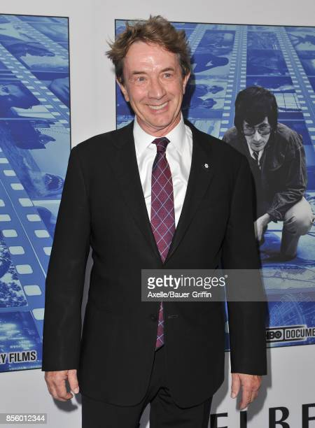 Actor Martin Short arrives at the HBO Premiere of 'Spielberg' at Paramount Studios on September 26 2017 in Hollywood California